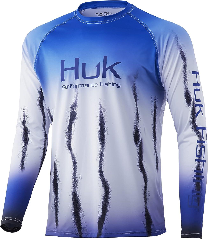 HUK 1 Tulsa Mall year warranty Men's Standard Double Header Long Protecting Sun Fi Sleeve