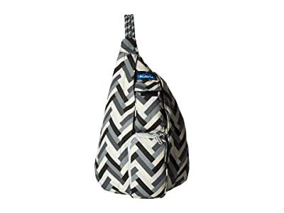 KAVU Mini Rope Bag (Stone Parquet) Bags