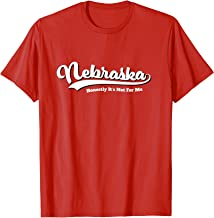 Nebraska Honestly It's Not For Me Script Vintage T-Shirt