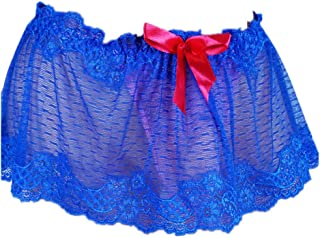 Sissy Pouch Panties Men's Skirted lace Mooning Bikini Briefs Girly Lingerie Underwear Sexy for Men