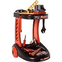 Ivation Kids Construction Tool Cart