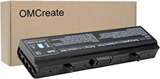OMCreate 5200mAh Battery Compatible with Dell Inspiron 1440 1525 1526 1545 1546 PP29L PP41L Series Vostro 500, fits P/N RN873 / X284G / M911 / M911G / GW240 / RN873 / K450N [5200mAh 6-Cell]