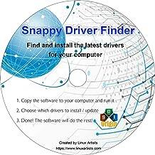 Software de Windows Drivers Finder CD: instale TODOS los controladores faltantes automáticamente.