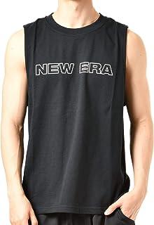 NEW ERA ニューエラ メンズ タンクトップ 12018864 12018865 MUSCLE-TANK-WORD-MARK-NE-BIG-FLG-LNE 12018865BLK M