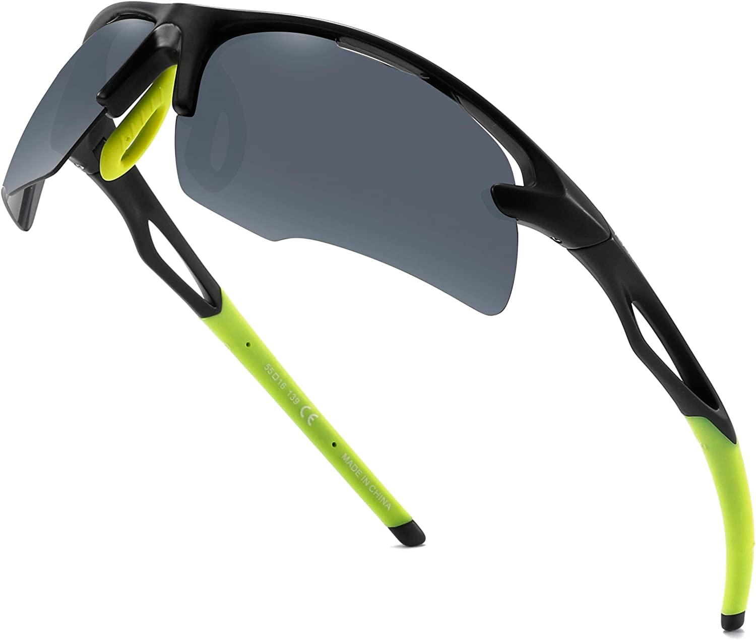 Polarized Cycling Men Sports Perfect Max 44% OFF Excellent for Sunglasses Run