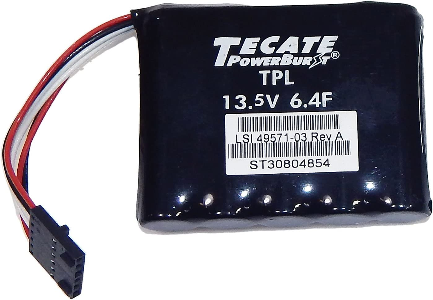 LSI 13.5V 6.4F Raid Cntrl Cap battery Pack 49571-03 Tecate RAID CACHE BBU
