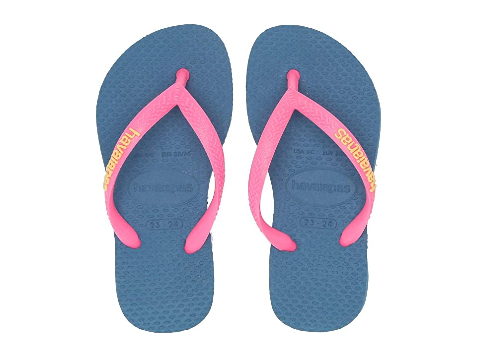 130082a00ab4 Havaianas Kids Slim Logo Pop-Up Flip Flops (Toddler Little Kid Big