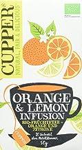 Cupper Tea Orange & Lemon Infusion, 4er Pack (4 x 50 g)