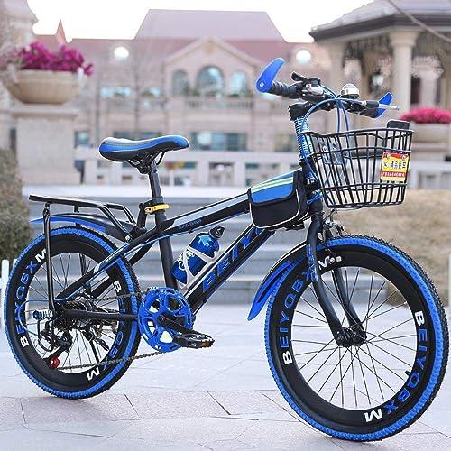 XHLJ Fahrrad, Kind 6-12 Jahre, Junge Geschwindigkeit Mountainbike, 20 Zoll, Speicherfunktion (Farbe   C)