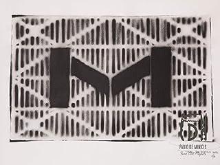 Letra M ABC Hort por Fabio De Minicis - Lienzo original 1/7-50 x 70 cm.