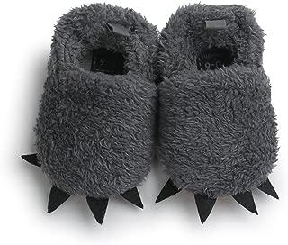 Soft Sole Infant Prewalker, Baby Boy Girl Cute Paws Cotton-Padded Shoes Anti-Slip Flat Sneaker
