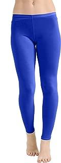 Ladies Microfiber Dance Gym Swimming Cycling Leggings US Size 4-22