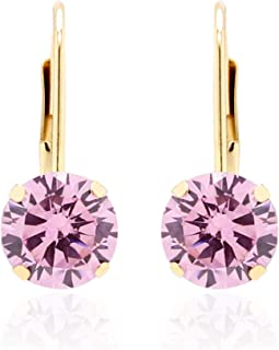 Best cubic zirconia and gold earrings Reviews