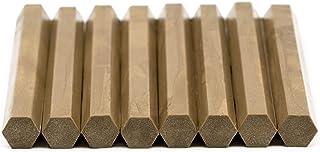 Lacre oro biodegradable ALB caja de 8 barras para sellar papel