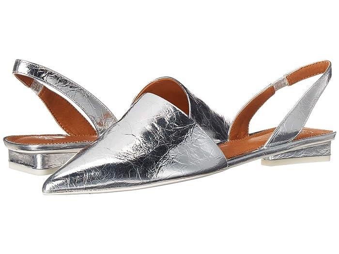 Franco Sarto  GRAYDON by SARTO (Silver) Womens Flat Shoes