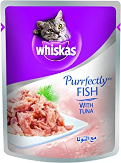 Whiskas Purrfectly Tuna Wet Cat Food Pouch 85g