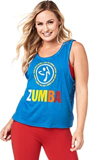 Zumba Breathable Burnout Shirts for Women Workout Athletic Tank Tops for Women
