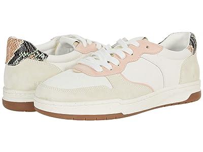 Madewell Court Sneaker in Snake Embossed Leather (Sheer Pink Multi) Women