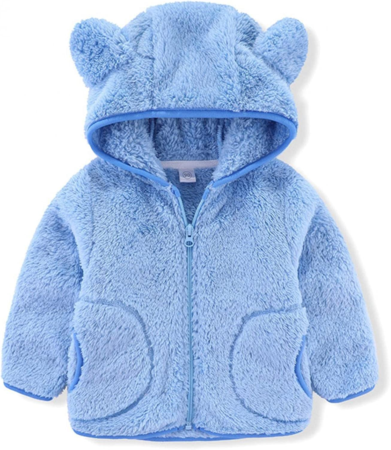 Toddler Hooded Super beauty product restock quality top! Jacket Girl Boy Top Winter Sweatshirt Outwea Warm Some reservation