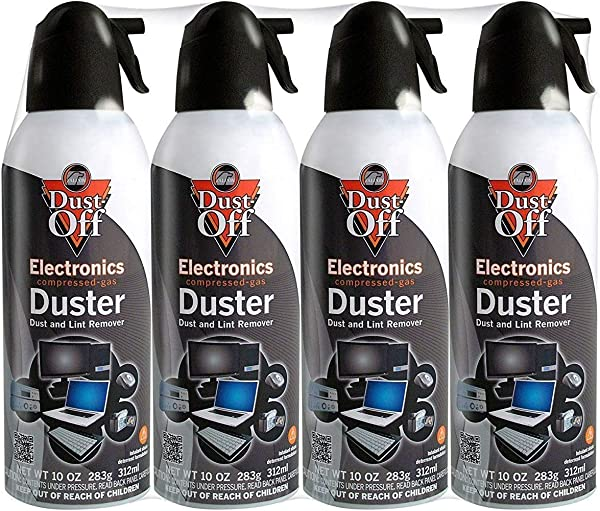 Dust Off Disposable Duster 10 Oz 12 Pack