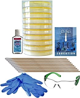 Premium Bacteria Science Fair Project Kit. Safest Bacteria Kit For Students. Includes Gloves and Safety Glasses. Learn About Microbiology. Complimentary Project Guide eBook Available.