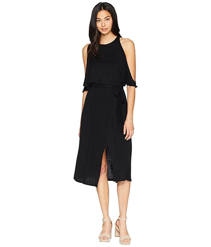 Bishop + Young Wrap Dress (Black) Women
