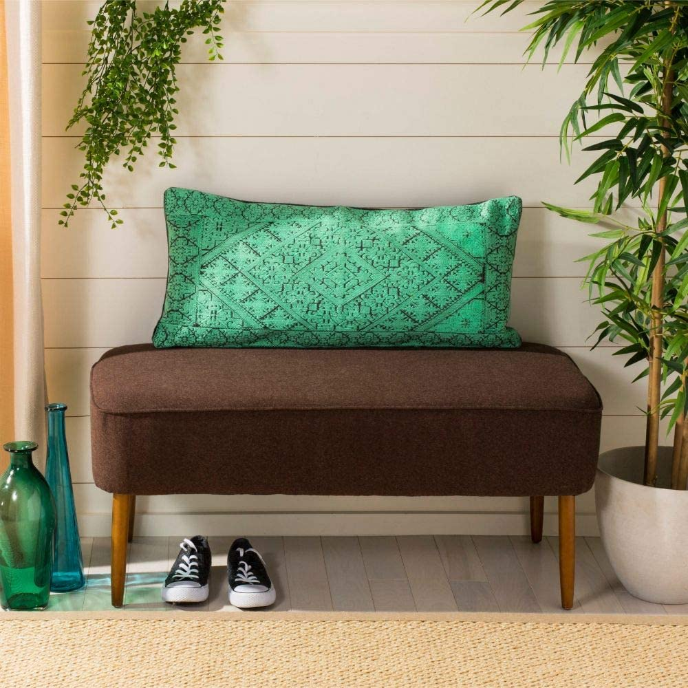Safavieh Lila New Free Shipping NEW Throw Sea Pillow Green