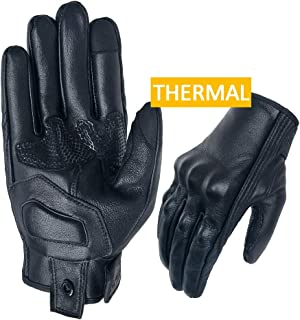 Best leather motorcycle gloves winter Reviews