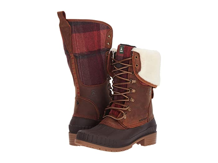 Kamik  SiennaF2 (Dark Brown) Womens Cold Weather Boots