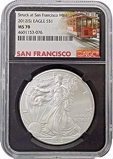 2012 s american silver eagle