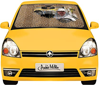 Archie Mcphee Car Full Of Bees Auto Sunshade Standard Auto