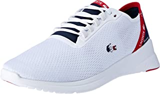 Lacoste LT FIT 119 5 Fashion Shoes, WHT/NVY/RED