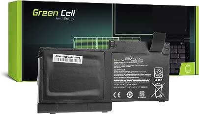 Green Cell  SB03XL HSTNN-I13C HSTNN-IB4S HSTNN-LB4T Laptop Akku f r HP EliteBook 720 G1 G2 820 G1 G2 725 G2  Li-Polymer Zellen 4000mAh 11 5V Schwarz