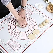 GWHOLE Tapete de Silicona para Hornear Baking Mat Grande Antiadherente 60 x 40 cm
