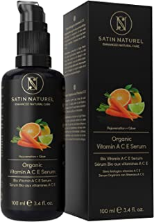 ORGANIC Vitamin ACE Anti-Wrinkle Serum w/Vitamin C & E,