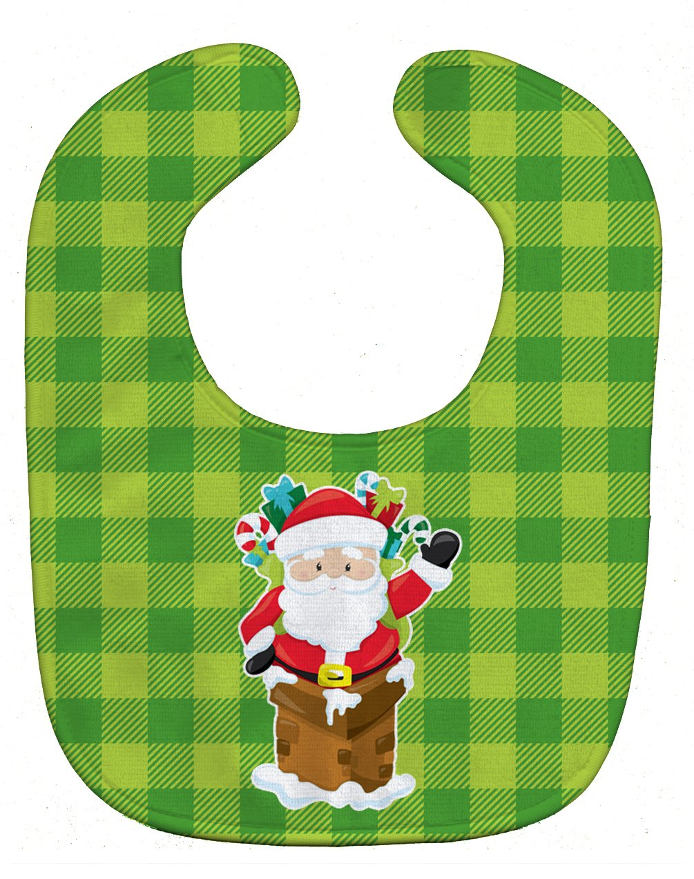 Caroline's Treasures BB9018BIB Christmas Santa Claus Baby Bib, 10 x 13