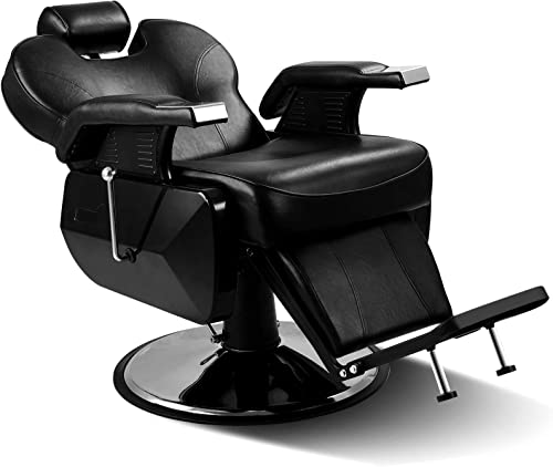 new arrival Artist Hand Black All Purpose Hydraulic Recline Barber sale Chair Salon Beauty StylingChair for outlet online sale Beauty Shop sale