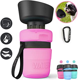 Kqpoinw Dog Water Bottle