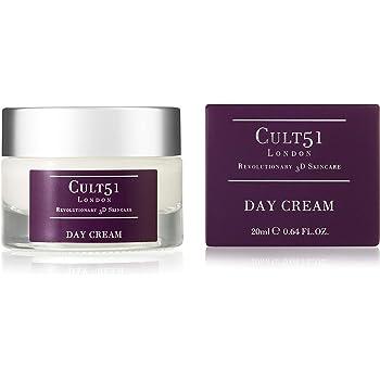 CULT51 London Revolutionary 3D Skincare, Day Cream 20ml, Anti-Ageing Plus De-Ageing Cream for Men and Women.