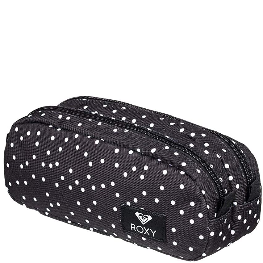 Roxy Da Rock Pencil Case - True Black Dots For Days