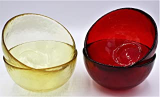 Copas de Cristal de Murano Colores Variados,
