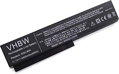 vhbw Akku passend f r Caspar ChiliGreen Fujitsu-Siemens Gericom Gigabyte Hasee LG Laptop Notebook Li-Ion 4400mAh 11 1V 48 84Wh schwarz Schätzpreis : 21,99 €