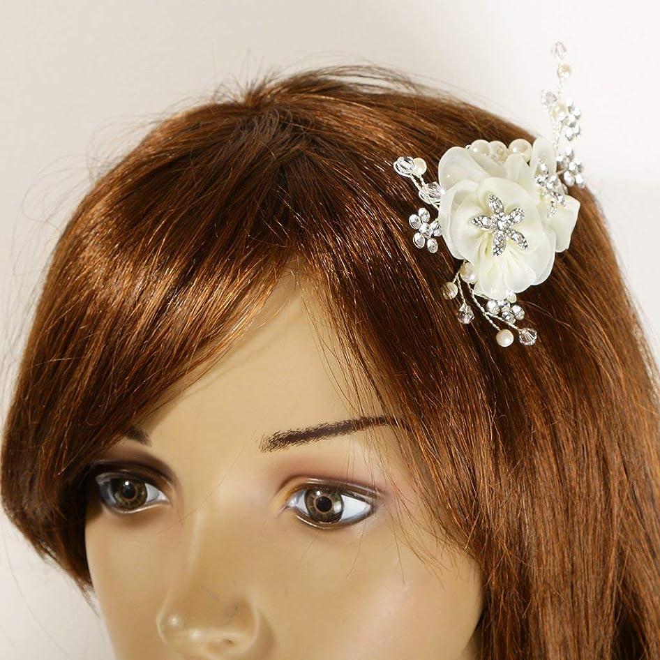 旋律的レーダー保証するGUANG-HOME 結婚式のブライダルヘッドピースヴィンテージ女性のラインストーンの髪の櫛