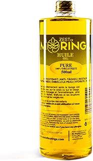 100% Organic Moringa Oleifera Seeds Oil Cold Pressed - 500ml