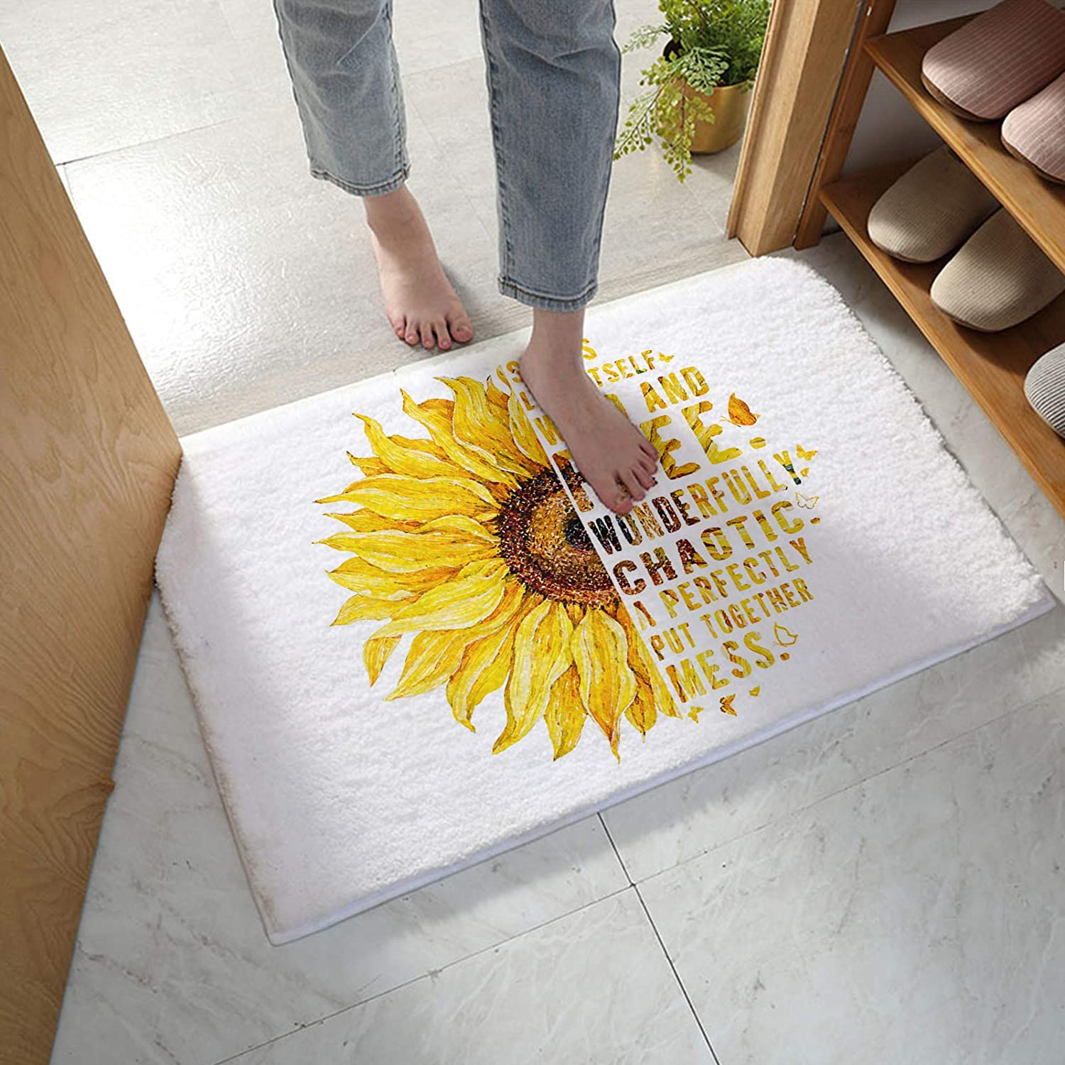 SIGOUYI Indoor All stores are sold Plush Floor Door Mat Absorb for 35