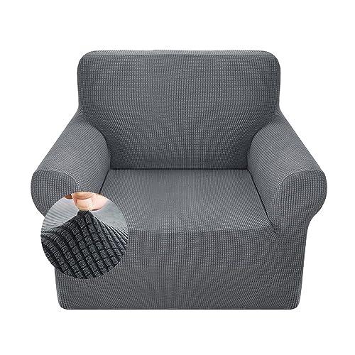 ZhongYeYuanDianZiKeJi Stretch Corner Sofa Slipcovers Loose Chair Covers 1 Piece Polyester Spandex Fabric