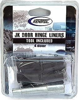 Kentrol Hinge Liners (4 Door) 70002, Black