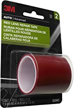 3M Red Lens Repair Tape, Highly Durable, 1.9in x 60in, 1 Roll