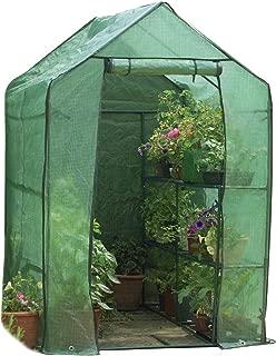 Gardman 7622 Walk-In Greenhouse with Shelving, 75