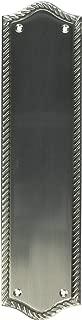 BRASS Accents A06-P0250-619 Trafalgar Push Plate, 2-3/4